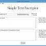 Simple Text Encryptor – Encrypted Text