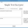 Simple Text Encryptor – Decrypted Text